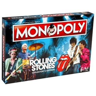 hra Rolling Stones - Monopoly, NNM, Rolling Stones