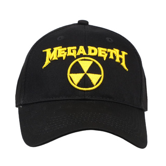 kšiltovka Megadeth - Hazard Logo - ROCK OFF, ROCK OFF, Megadeth