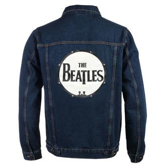 bunda pánská Beatles - Drum Logo - DENIM - ROCK OFF, ROCK OFF, Beatles