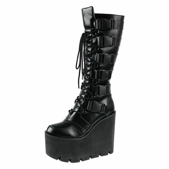boty dámské KILLSTAR - Lugosi - Black - KSRA003530