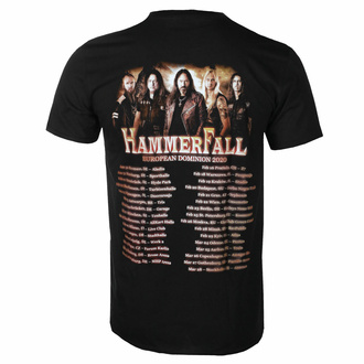 tričko pánské Hammerfall - Dominion World - ART WORX, ART WORX, Hammerfall