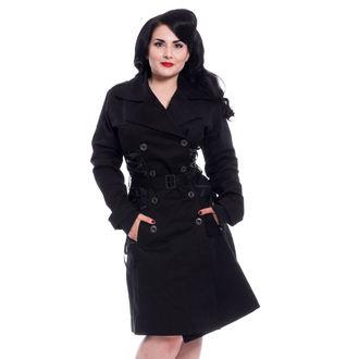 kabát dámský Chemical Black - ELLEN - BLACK