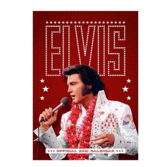 kalendář na rok 2021 -  ELVIS PRESLEY, NNM, Elvis Presley