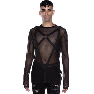 tričko pánské s dlouhým rukávem KILLSTAR - Elysium Fishnet, KILLSTAR