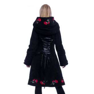 kabát dámský Poizen Industries - EMILLA - BLACK, POIZEN INDUSTRIES