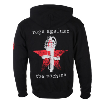 mikina pánská Rage against the machine - Bulls On Parade Mic - Black, NNM, Rage against the machine