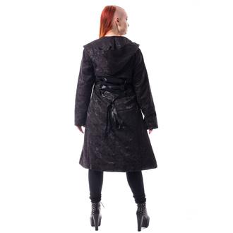 kabát dámský POIZEN INDUSTRIES - ETERNAL ROSE - BLACK, POIZEN INDUSTRIES