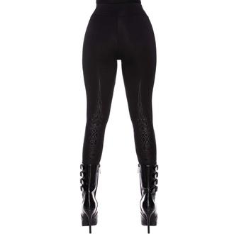 kalhoty dámské (legíny) KILLSTAR - Ether - Black, KILLSTAR