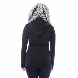 mikina dámská CHEMICAL BLACK - EUDORA - BLACK, CHEMICAL BLACK