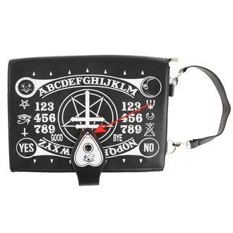 kabelka (taška) POIZEN INDUSTRIES - OCCULT - BLACK - POŠKOZENÁ, POIZEN INDUSTRIES