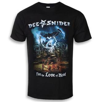 tričko pánské DEE SNIDER - For The Love Of Metal - NAPALM RECORDS, NAPALM RECORDS, Dee Snider