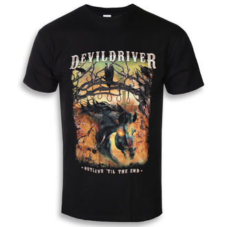 tričko pánské DEVILDRIVER - Outlaws Til The End - NAPALM RECORDS, NAPALM RECORDS, Devildriver