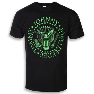 tričko pánské Ramones - Green Seal - ROCK OFF, ROCK OFF, Ramones