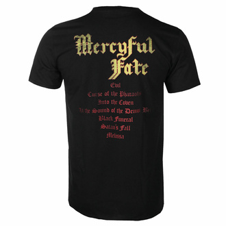 tričko pánské Mercyful Fate - Melissa Tracklist - DRM137294