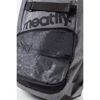 batoh MEATFLY - Exile - A Heather Gray/Black
