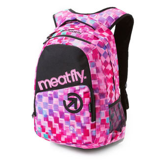 batoh MEATFLY - Exile - F Cross Pink/Black, MEATFLY