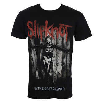 tričko pánské Slipknot - Gray Chapter - Blk - ROCK OFF, ROCK OFF, Slipknot