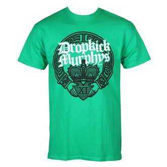 tričko pánské Dropkick Murphys - Claddagh Hands - Irish Green - KINGS ROAD, KINGS ROAD, Dropkick Murphys