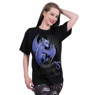 tričko unisex SPIRAL - POCKET DRAGON - Black, SPIRAL