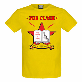 tričko pánské THE CLASH - KNOW YOUR RIGHTS - YELLOW RAVEN - AMPLIFIED, AMPLIFIED, Clash