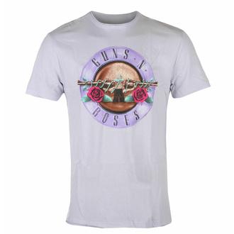 tričko pánské Guns N' Roses - TONAL BULLET - PURPLE PHAZE - AMPLIFIED, AMPLIFIED, Guns N' Roses