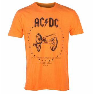 tričko pánské AC/DC - FOR THOSE ABOUT TO ROCK - ORANGE CRUSH - AMPLIFIED, AMPLIFIED, AC-DC