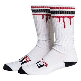 ponožky SULLEN - DON'T DIE - WHT/BLK/RED, SULLEN