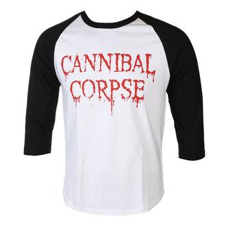 tričko pánské s 3/4 rukávem CANNIBAL CORPSE - DRIPPING LOGO - PLASTIC HEAD, PLASTIC HEAD, Cannibal Corpse