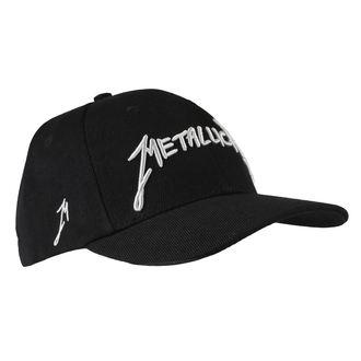 kšiltovka Metallica - Garage - Silver Logo Black, NNM, Metallica