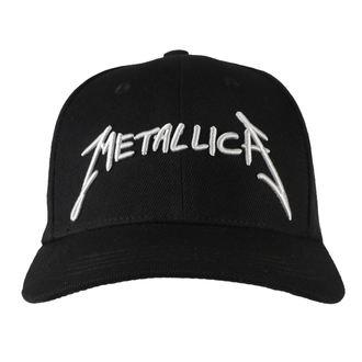 kšiltovka Metallica - Garage - Silver Logo Black, Metallica