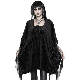 přehoz dámský KILLSTAR - Fang Velvet Kimono - BLACK - KSRA002721