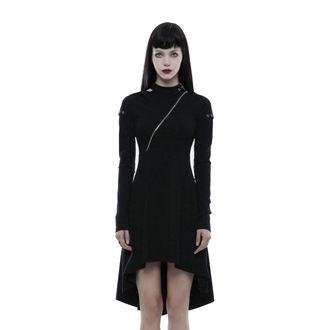 šaty dámské PUNK RAVE - Tech Noir, PUNK RAVE
