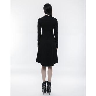 šaty dámské PUNK RAVE - Tech Noir - OPQ-236/BK