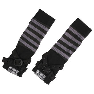 narukávník POIZEN INDUSTRIES - STRIPE STRAP - BLACK/GREY, POIZEN INDUSTRIES