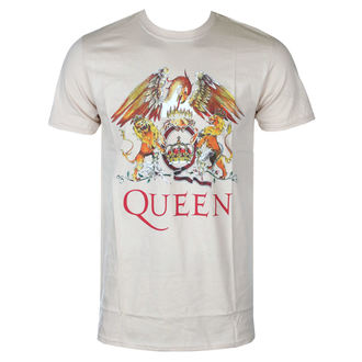 tričko pánské Queen - Classic Crest - ROCK OFF, ROCK OFF, Queen