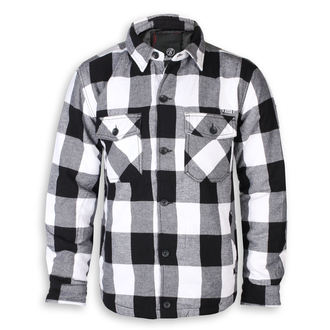bunda pánská BRANDIT - Lumberjacket checked - 9478-white/black check