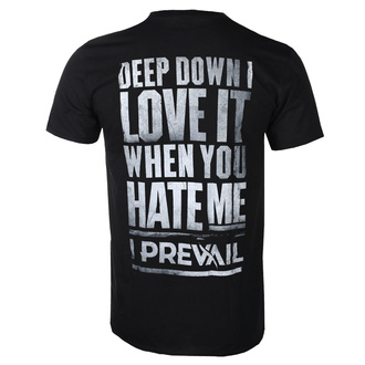 tričko pánské I Prevail - Love it Hate - Black - KINGS ROAD, KINGS ROAD, I Prevail