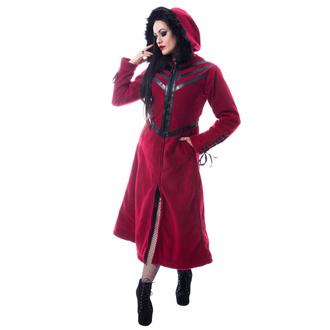 kabát dámský CHEMICAL BLACK - FINAL - RED, CHEMICAL BLACK