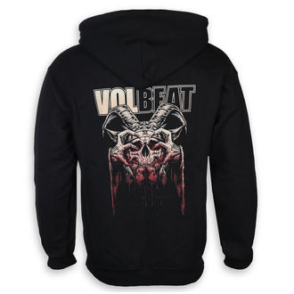 mikina pánská Volbeat - Bleeding Crown Skull - ROCK OFF, ROCK OFF, Volbeat