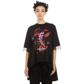 tričko dámské (tunika) DISTURBIA - Frida Flowers, DISTURBIA