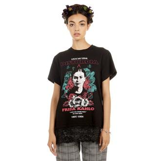 tričko dámské DISTURBIA - Frida Viva La Vida - Lace, DISTURBIA