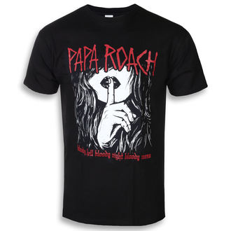 tričko pánské Papa Roach - Bloody Hell - Black - KINGS ROAD, KINGS ROAD, Papa Roach