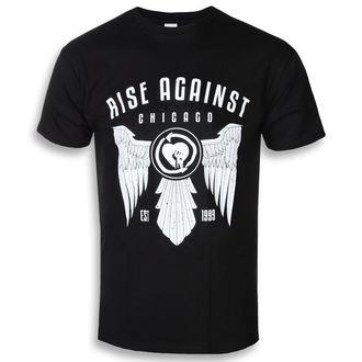 tričko pánské Rise Against - Wings - Black - KINGS ROAD - 20102061