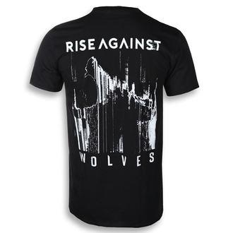tričko pánské Rise Against - Wolves Pocket - Black - KINGS ROAD, KINGS ROAD, Rise Against