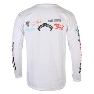 tričko pánské s dlouhým rukávem Guns N' Roses - Motorcross Logo - ROCK OFF, ROCK OFF, Guns N' Roses