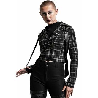 bunda dámská KILLSTAR - Freak Flag - ASH TARTAN, KILLSTAR