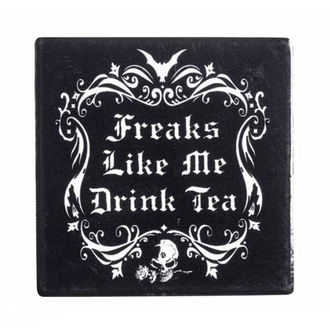 podtácek ALCHEMY GOTHIC - Freaks Like Me Drink Tea - CC5