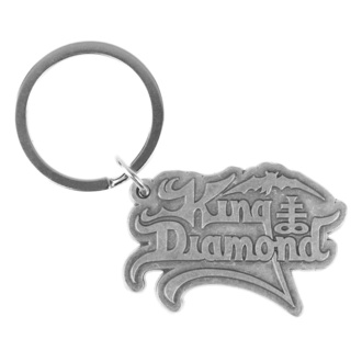 klíčenka (přívěšek) King Diamond - Logo - RAZAMATAZ, RAZAMATAZ, King Diamond