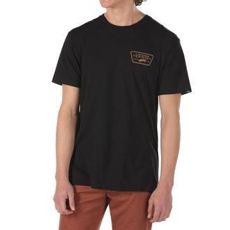 tričko pánské VANS - MN FULL PATCH BACK S - BLACK/DIRT, VANS
