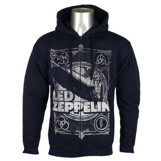 mikina pánská Led Zeppelin - Navy - RTLZEZHNVIN